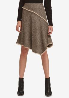 Dkny Asymmetrical Tweed Skirt, Created for Macy's
