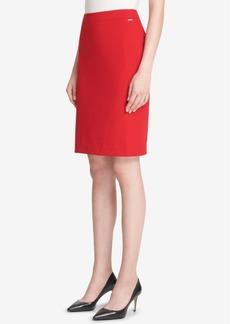 Dkny Back-Slit Pencil Skirt, Created for Macy's