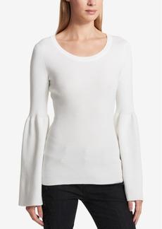 Dkny Bell-Sleeve Sweater