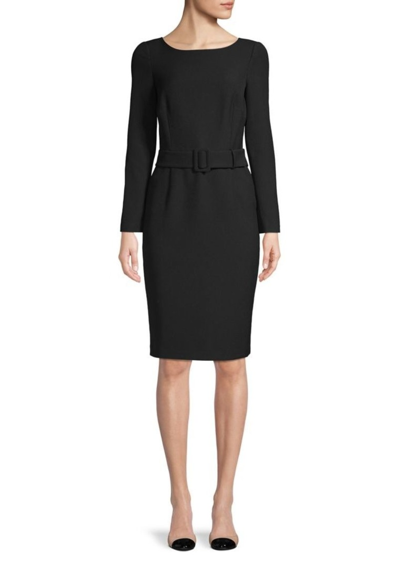 DKNY Donna Karan New York Belted Sheath Dress