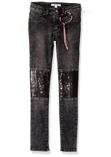 DKNY Big Girls' Skinny Fit Jean (More Styles Available) 1198DG Ash Wash