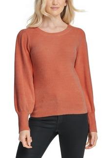 Dkny Chenille Blouson-Sleeve Sweater