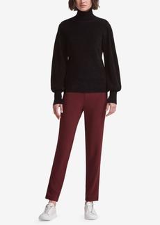 Dkny Chenille Blouson-Sleeve Sweater, Created for Macy's