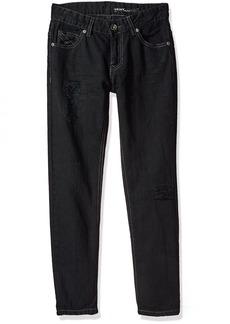 DKNY Boys' Big Denim Jean (More Styles Available) Olive dye Black