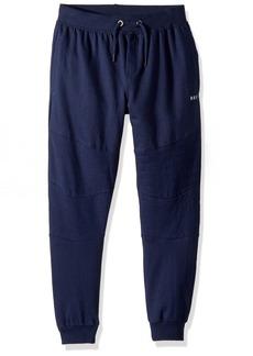 DKNY Boys' Big Fleece Moto Jog Pant  10/12