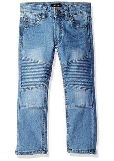 DKNY Boys' Big Wooster Skinny Fit 5 Pocket Stretch Denim Jean