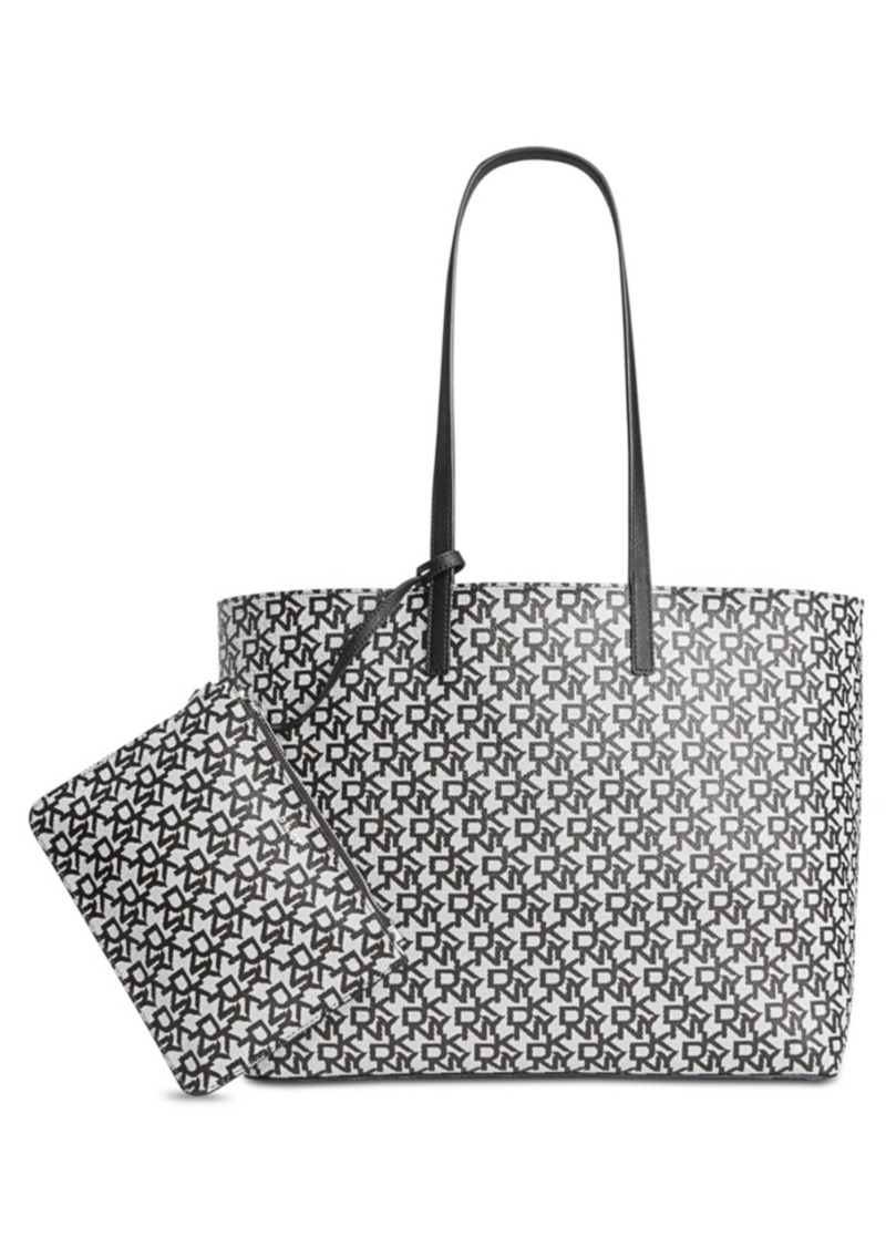 a931cd509fc97 DKNY Dkny Brayden Signature Reversible Tote, Created for Macy's ...