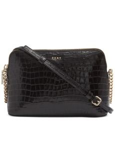 Dkny Bryant Croco Dome Crossbody, Created For Macy's