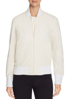 DKNY Coated Bomber Jacket