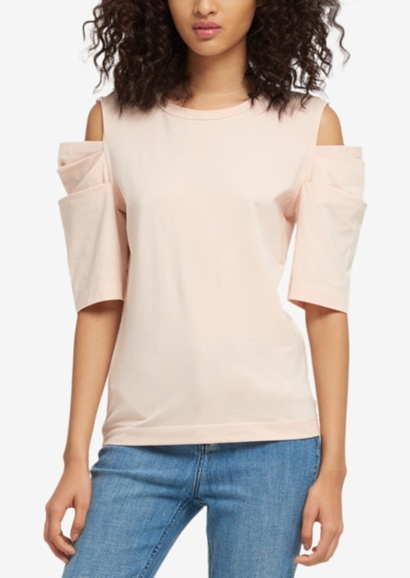 d3b6f827187 On Sale today! DKNY Dkny Cold-Shoulder Top, Created for Macy's