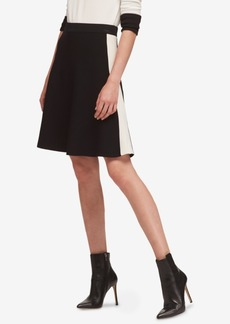 Dkny Colorblocked A-Line Skirt, Created for Macy's