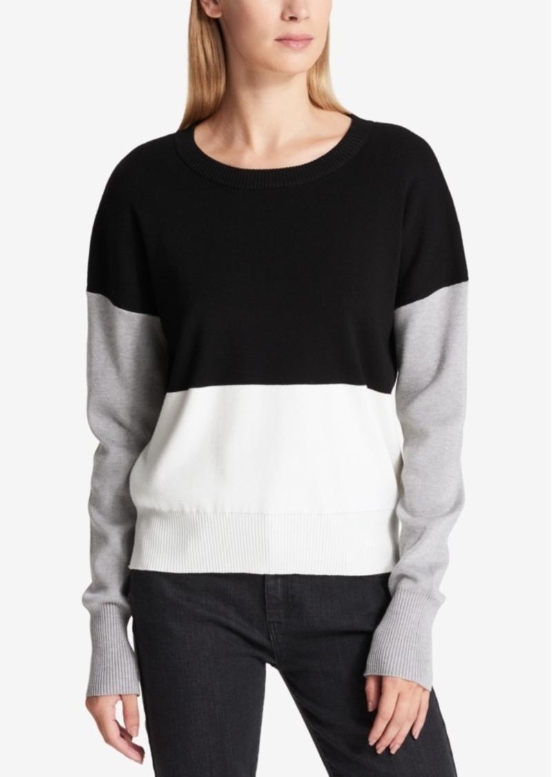 af8a10ba61 DKNY Dkny Colorblocked Sweater