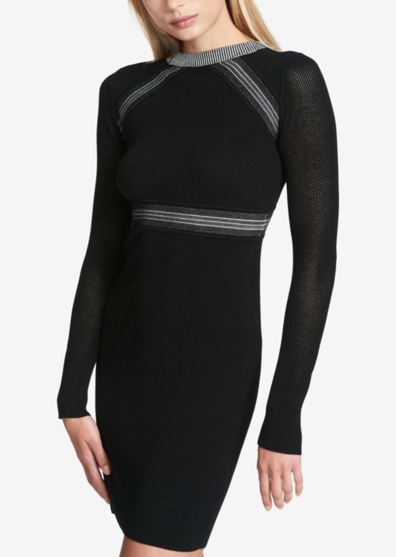 739e0698 DKNY Dkny Colorblocked Sweater Dress | Dresses