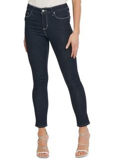 Dkny Contrast-Stitch Skinny Jeans