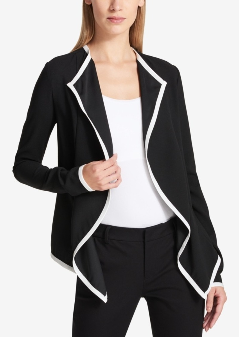 edgelook jacket draped suede faux drapes products