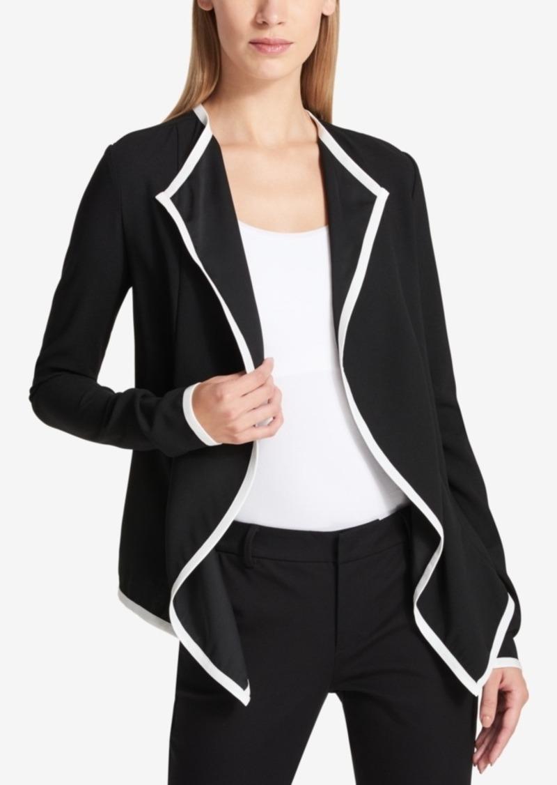 drapes width com v lamarque draped jacket leather p levina bluefly