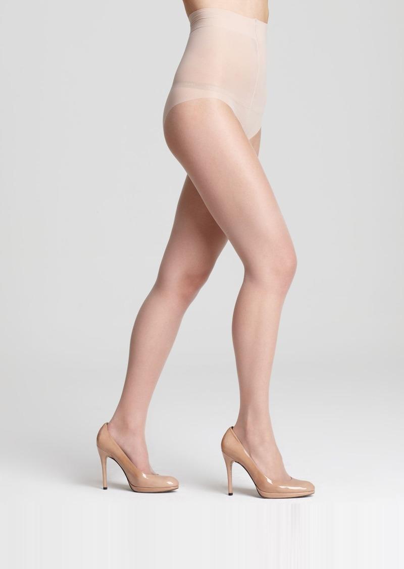 DKNY Donna Karan Nude Control Top Tights