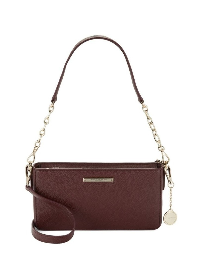 Dkny Donna Karan Cordovan Leather Crossbody Bag