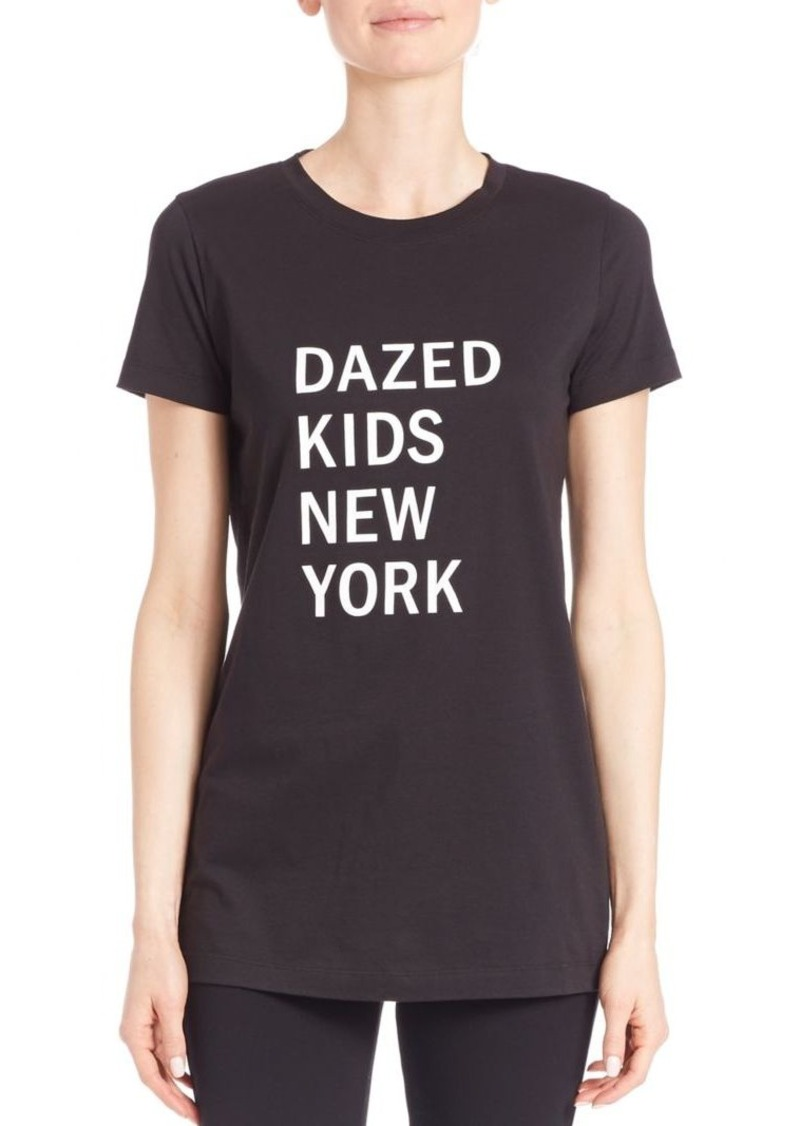 DKNY Cotton Dazed Graphic Tee