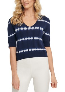 Dkny Cotton Tie-Dye Sweater