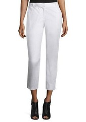 DKNY Cropped Stretch-Twill Pants