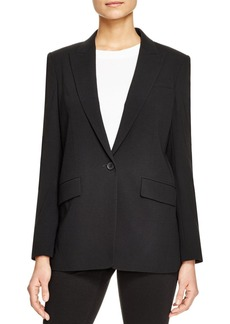 DKNY Crossover Back Blazer
