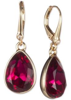 Dkny Crystal Teardrop Earrings, Created for Macy's
