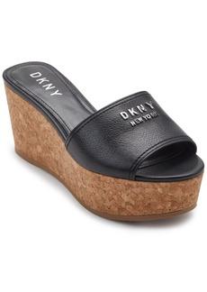 Dkny Cutie Wedge Sandals