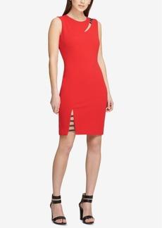 Dkny Cutout Sheath Dress, Created for Macy's