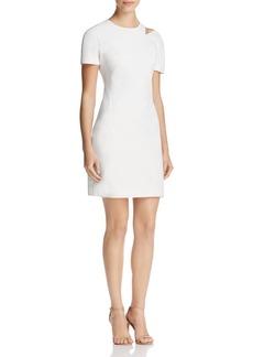 DKNY Cutout Shoulder Dress