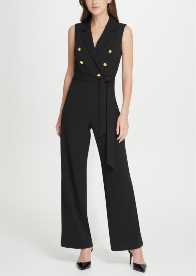 Dkny Double Breasted Jumpsuit