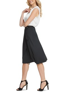 Dkny Draped Asymmetrical Skirt