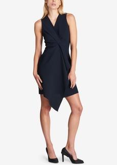 Dkny Draped-Front Sheath Dress