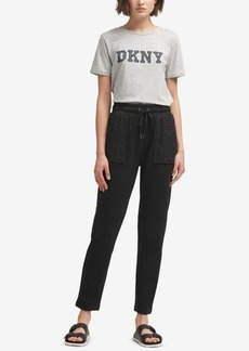 Dkny Elastic Pull-On Pants, Created for Macy's