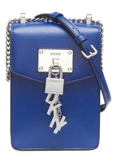 Dkny Elissa Leather North-South Crossbody, Created For Macy's
