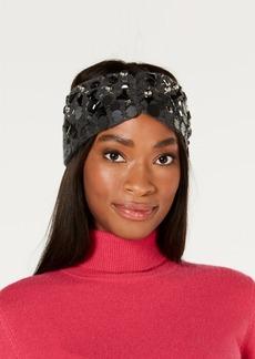 Dkny Embellished Knit Headband, Created for Macy's