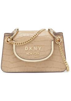 Dkny Faith Micro Mini Leather Crossbody