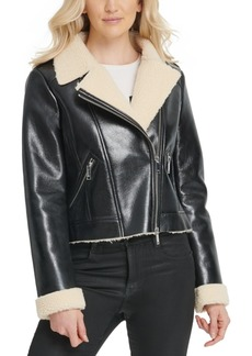 Dkny Faux-Shearling Jacket