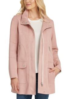 Dkny Faux-Suede Jacket