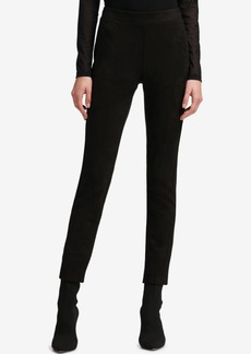Dkny Faux-Suede Leggings, Created for Macy's