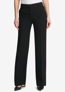 Dkny Fixed-Waist Wide-Leg Pants, Created for Macy's