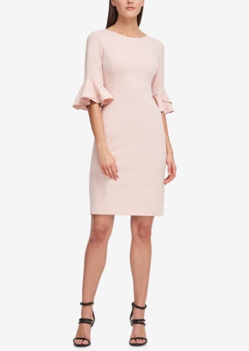 ae5c0cf0 DKNY Dkny Flounce-Sleeve Sheath Dress, Created for Macy's | Dresses