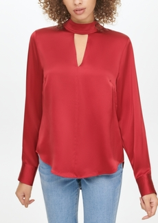 Dkny Front-Cutout Top