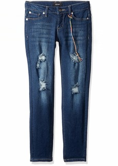 DKNY Girls' Big Chrystie Super Skinny Jean