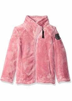 DKNY Girls' Big Fleece Jacket