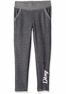 DKNY Girls' Big Fleece Legging  14/16