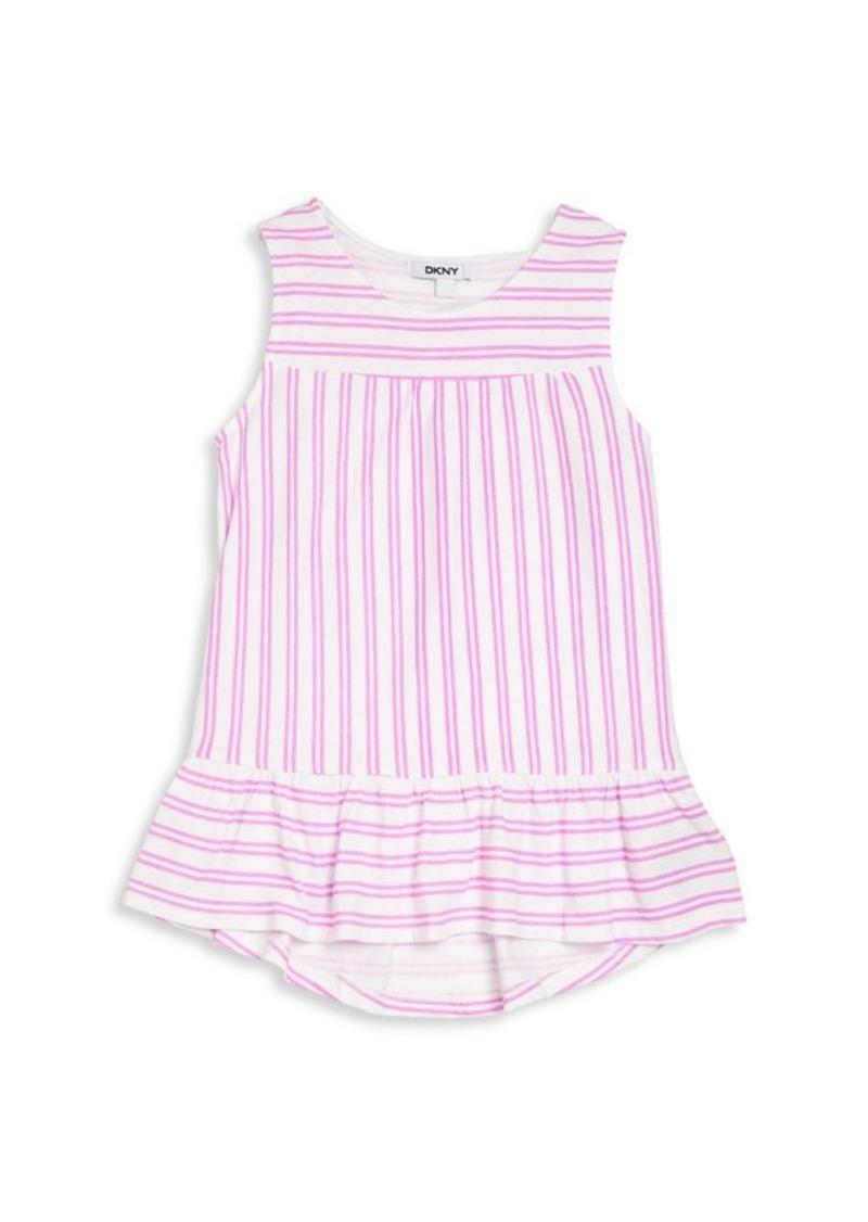 DKNY Girl's Sleeveless Striped Top
