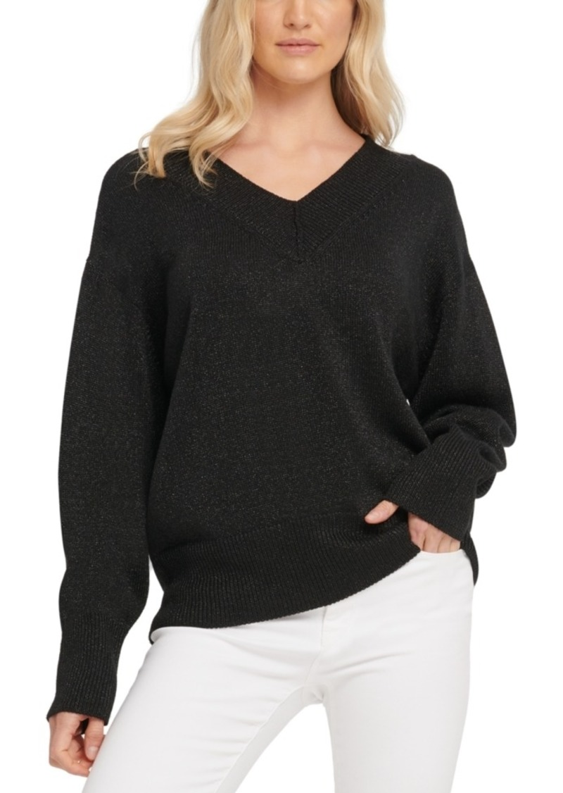 Dkny Glitter-Speck Sweater