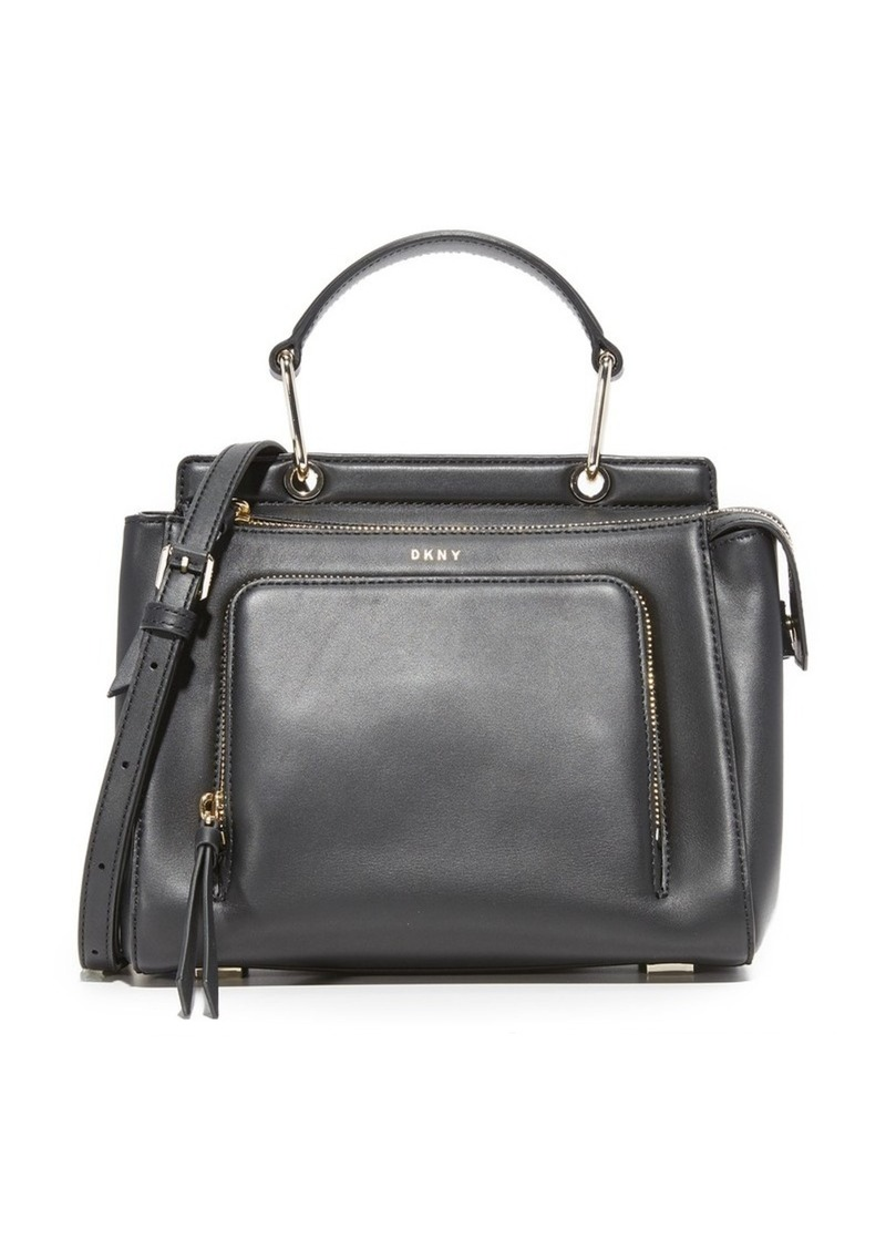 SALE! DKNY DKNY Greenwich Small Top Handle Satchel d50efe523ebde