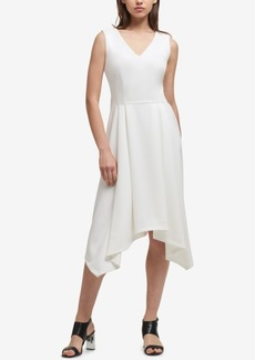 Dkny High-Low Fit & Flare Dress, Created for Macy's